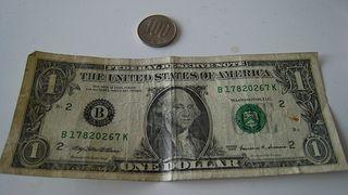 1 Dollar vs 100 yen