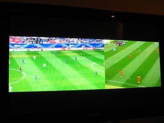 Split TV mode